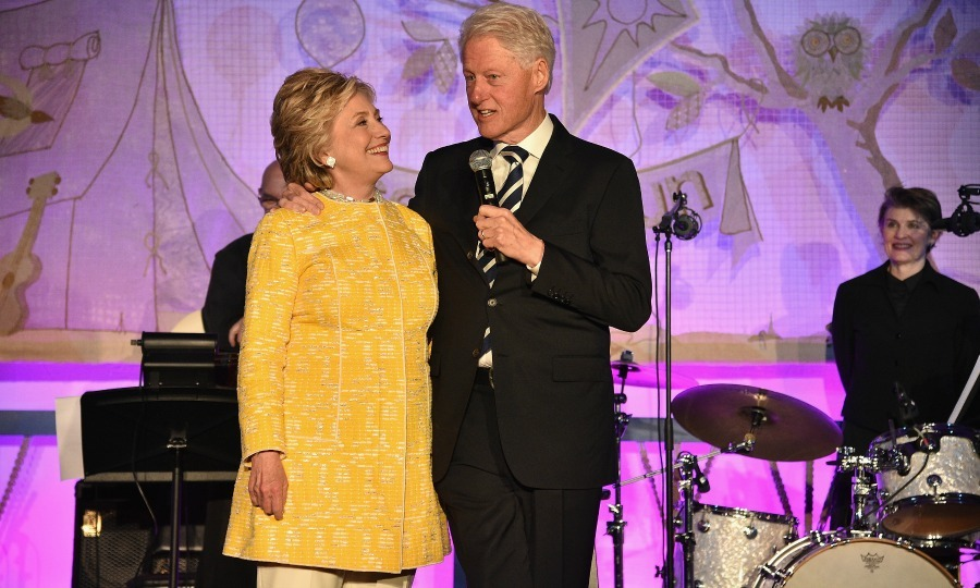 May 23: Hillary and Bill Clinton shared a laugh during the  SeriousFun Children's Network Gala in NYC. 