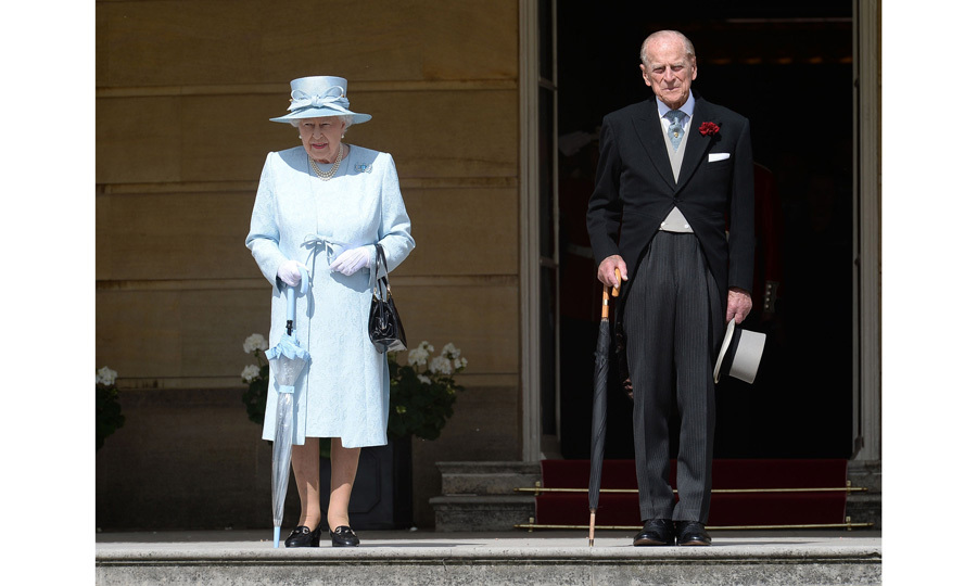 Queen Elizabeth, joined by Prince Philip, hosted a garden party at Buckingham Palace on June 1. While at the event, Her Majesty spoke with Transport for London staff member Brendan Sleight about the Manchester terror attack. 