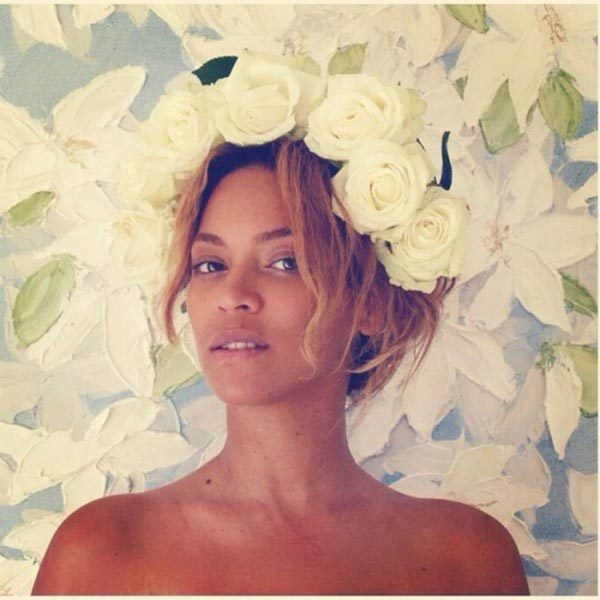 I woke up like this... Beyoncé is also the Queen Bey when it comes to demonstrating the beauty of going makeup free.