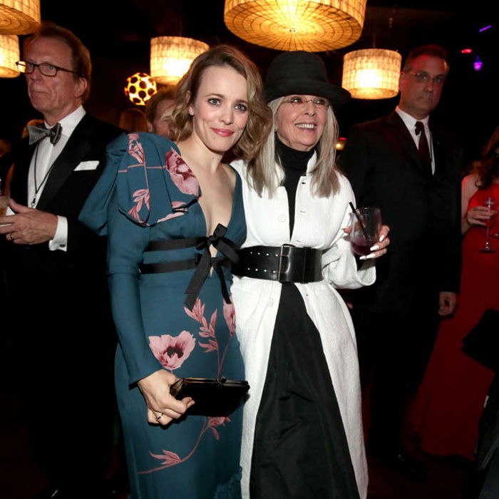 June 8: Rachel McAdams was one of the presenters on hand for Diane Keaton as she received her AFI Lifetime Achievement Award in Hollywood.