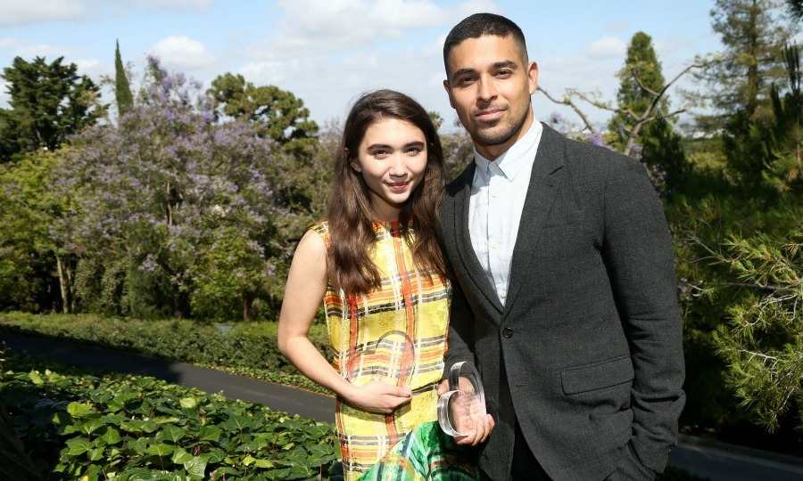 June 11: It counts to care! Rowan Blanchard and Wilmer Valderrama were special guests during the Children Mending Hearts' 9th annual Empathy Rocks event in L.A.