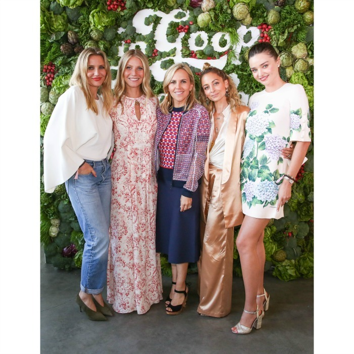June 10: Gwyneth Paltrow and Goop hosted a star-studded girls' day with Cameron Diaz, Tory Burch, Nicole Richie, Miranda Kerr and many more at the inaugural In Goop Health event held at 3Labs in Culver City. 