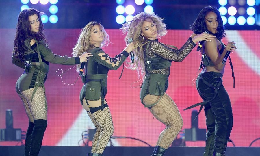 June 9: Fifth Harmony showed off their moves during the  iHeartSummer '17 Weekend hosted by AT&T at Fontainebleau Miami Beach.