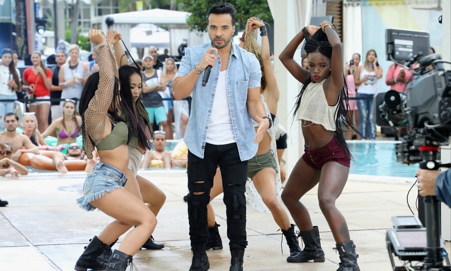 June 9: Luis Fonsi showed fans how it's done in Puerto Rico during his poolside performance at the iHeartSummer '17 Weekend hosted by AT&T at Fontainebleau Miami Beach.