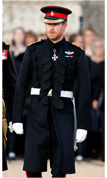 A day earlier, Prince Harry was dashing in uniform at the Household Division's Beating Retreat at Horse Guards Parade in London, England. 'Beating Retreat', which now is synonymous with the annual musical pageant and precision drill, is a reference to a 16th-century military drum call.