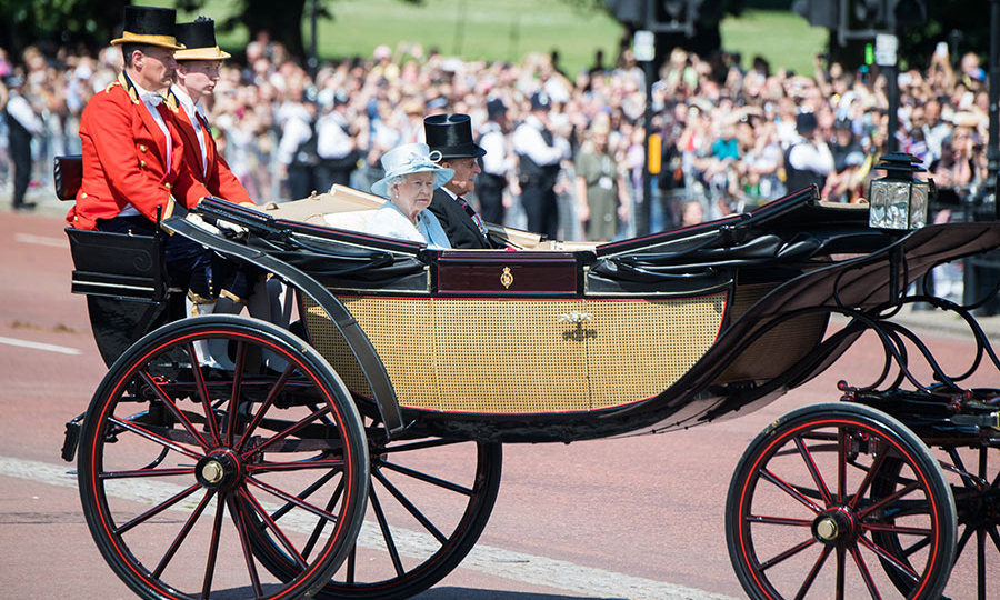 At the start of the event, Queen Elizabeth held a moment of silence, to honor the victims of the Grenfell Tower fire in West London, along with those killed in the UK terror attacks in London and Manchester. The 91-year-old monarch and her 96-year-old husband Prince Philip, rode through the crowds in a carriage.  