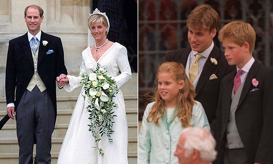 Prince Edward And Sophie Wes A Look Back At Their Windsor Castle Wedding