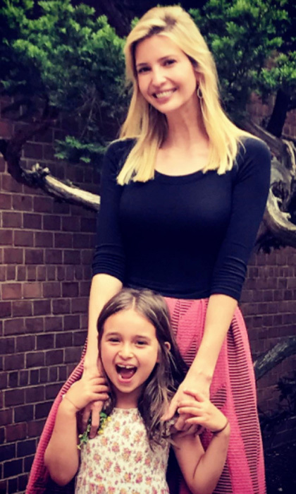 """Arabella's last day of school! Can't believe she is going to be in first grade – but first, summer!☀️"" Ivanka captioned the happy photo with her little girl.
