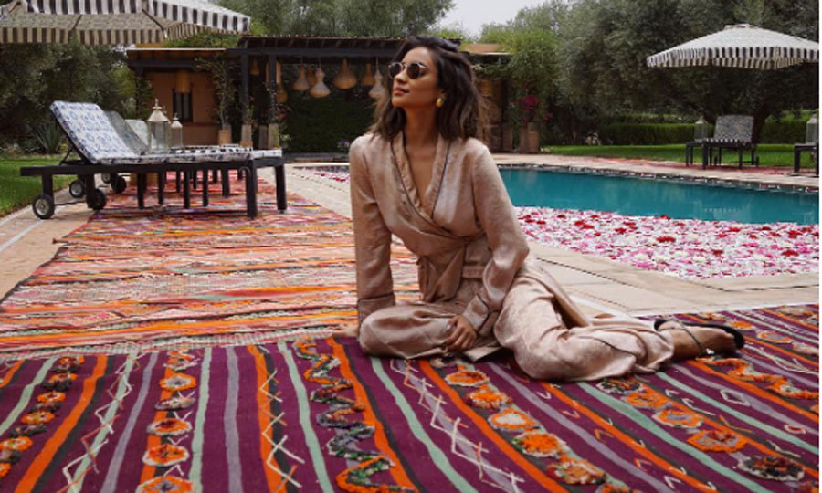 "When she isn't on set, the world is Shay Mitchell's oyster. The <i>Pretty Little Liars</i> actress takes full advantage of travel, which is evident on her Instagram. Most recently, she was able to spend ten days in Morocco. ""It was one of my favorite places,"" she told HELLO!. ""Marrakesh is just magical. Everywhere you look, there are so many colors."" 