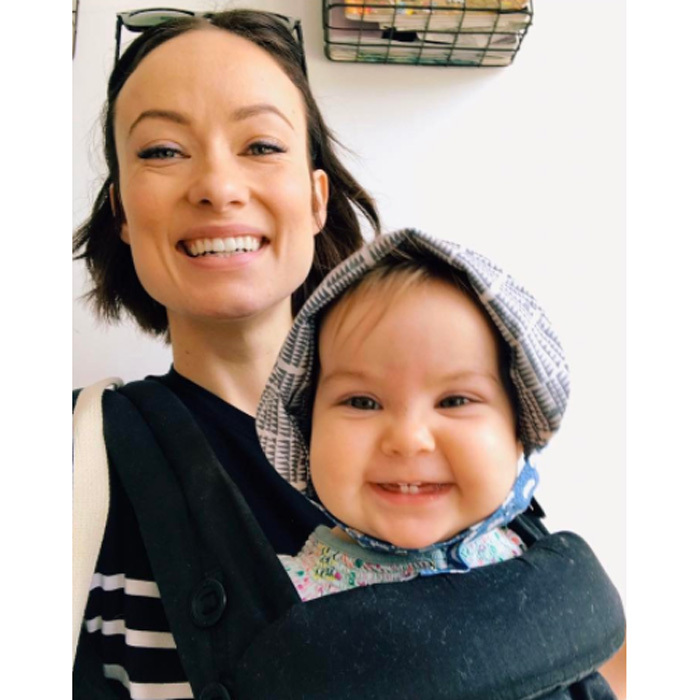 Olivia Wilde and her and Jason Sudeikis' daughter Daisy showed off their pearly whites to celebrate the opening of Broadway's <i>1984</i>. 