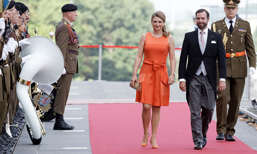 Prince Guillaume of Luxembourg and wife Princess Stephanie marked National Day at an official reception held at Luxembourg Philarmonie Hall on June 23.
