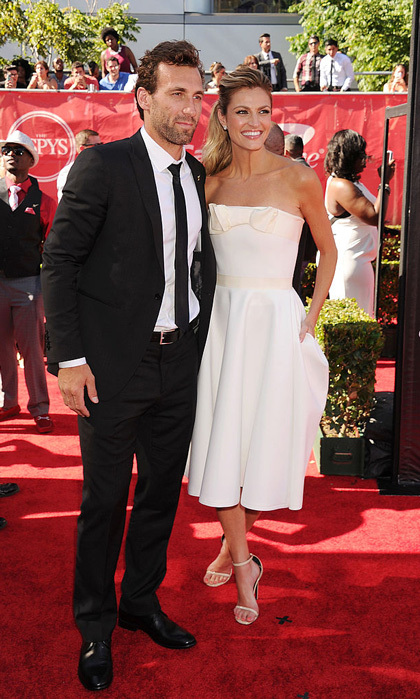 <b>Erin Andrews and Jarret Stoll</b>
