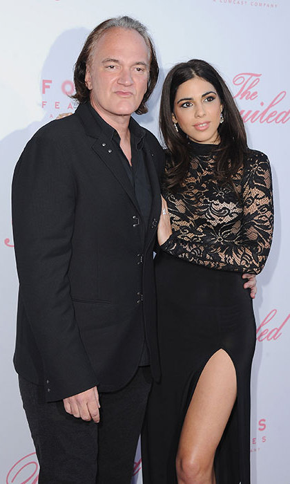 <b>Quentin Tarantino and Daniela Pick</B>