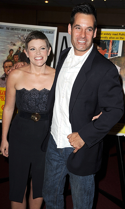 <B>Natalie Maines and Adrian Pasdar</B>