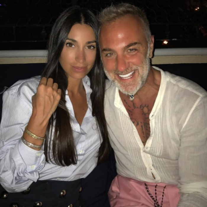 <b>Gianluca Vacchi and Giorgia Gabriele</b>