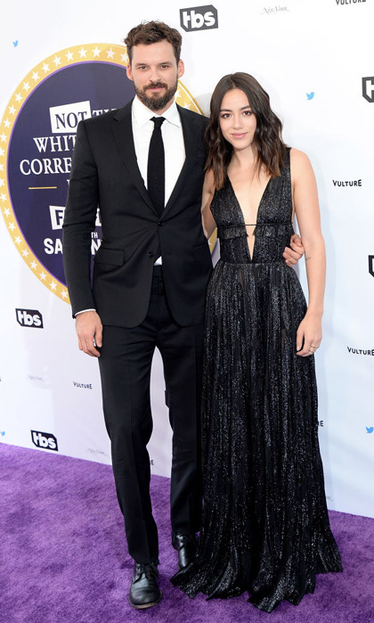 <b>Austin Nichols and Chloe Bennet</b>