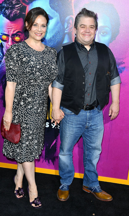 <b>Patton Oswalt and Meredith Salenger</b>