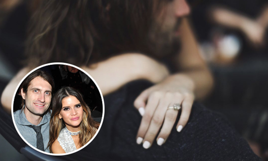 <b>Maren Morris and Ryan Hurd</b>