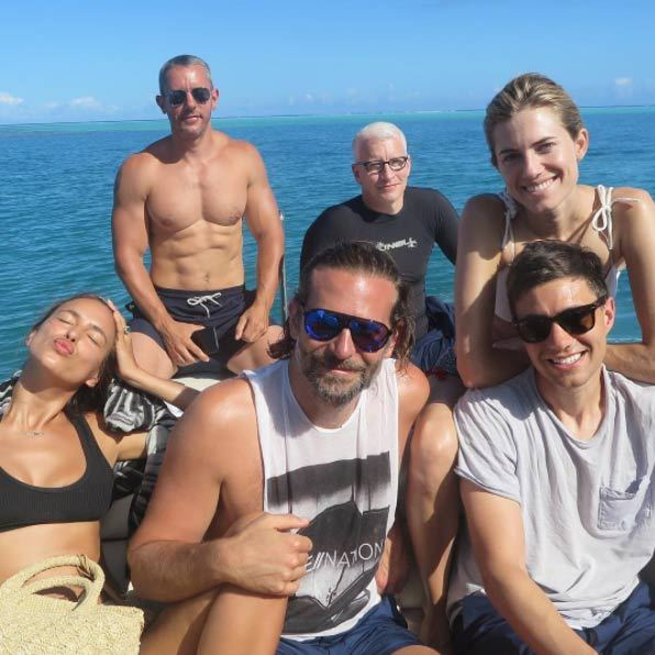 <b>Bradley Cooper and Irina Shayk</B>
