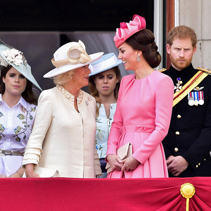 As a royal wife herself, Camilla has provided support to daughter-in-law Kate Middleton and the pair are said to be very close.