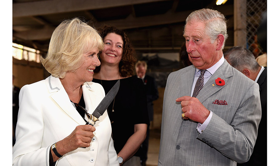 Duchess Camilla is famously down to earth and is known for providing a touch of humor – and great candid moments – during royal engagements. 