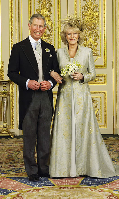 Clarence House made the official announcement on February 10, 2005 that Prince Charles was to marry Camilla Parker-Bowles. On April 9, the couple married in a civil ceremony at Windsor Guildhall, Berkshire. After the civil vows, the Prince and Duchess held a service of blessing at St. George's Chapel at Windsor Castle, which was attended by the royal family including Queen Elizabeth.
