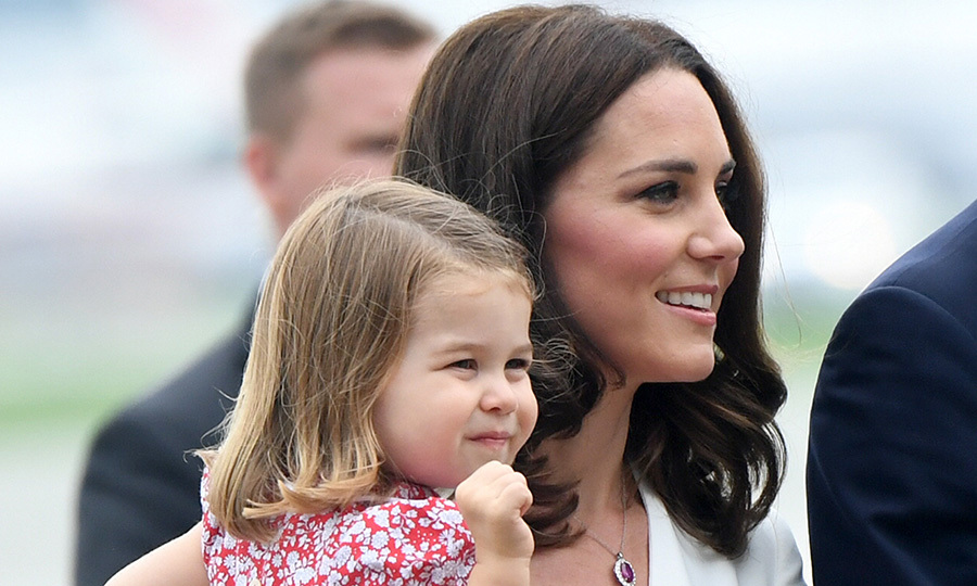 This is the Cambridges second trip abroad with the children  – they also brought George and Charlotte with them to Canada.