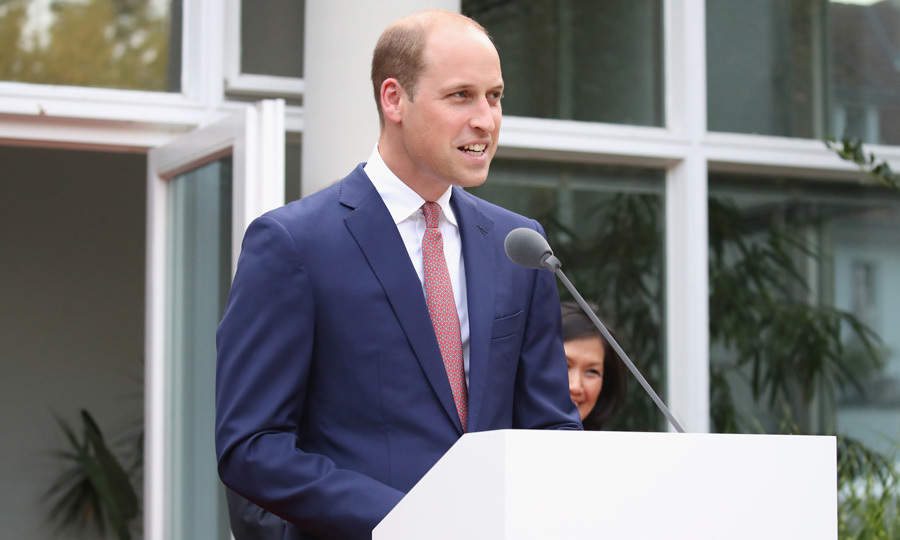 "Prince William spoke of the UK's relationship with Germany at the garden party. He also delivered a message from his grandmother the Queen that read: ""Prince Philip and I send our warmest good wishes to all of you gathered for this special Garden Party, on the occasion of The Duke and Duchess of Cambridge's official visit to Germany.""