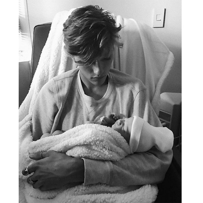 <b>Lucky Blue Smith</B>