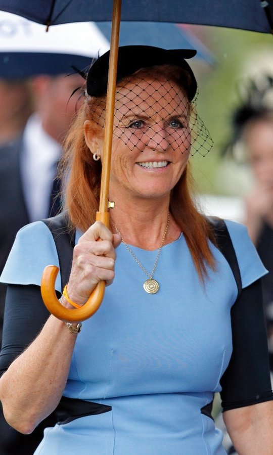 On July 29, Sarah, Duchess of York stepped out for the King George VI racing meet at Ascot Racecourse, where she was also joined by ex-husband Prince Andrew.