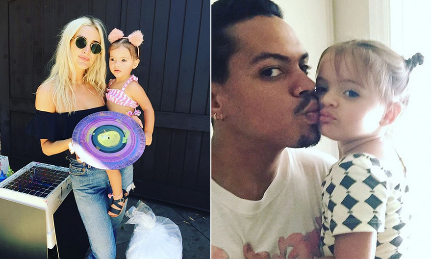 "Ashlee Simpson and Evan Ross marked their adorable daughter Jagger's second birthday with a killer bash. The little girl had an Andy Warhol-themed party, complete with: paint-your-own vinyls, a Mickey Mouse cake (which was adorned with a Warhol can of soup that said ""Jagger's Tomato Soup"") and artistic hanging bananas. 