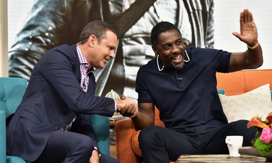 Idris Elba has been busy promoting his film <i>Dark Tower</i>. The actor enjoyed stopping by the talk show <i>Despierta America</i> on August 2 in Miami, Florida. 