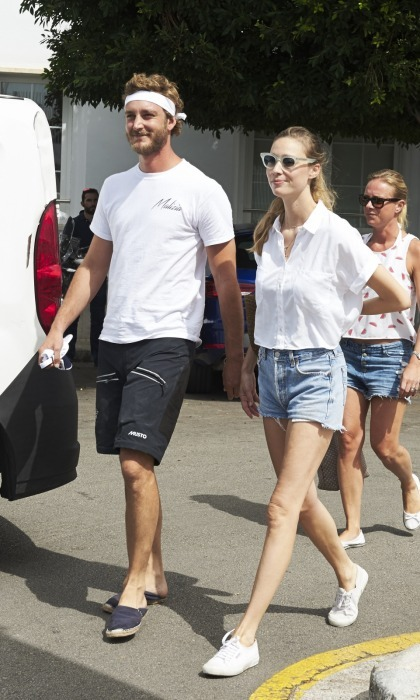 Monaco royals Pierre Casiraghi and Beatrice Borromeo stepped out together for Day 3 of the 36th Copa Del Rey Mafre Sailing Cup on August 2 in Palma de Mallorca, Spain.
