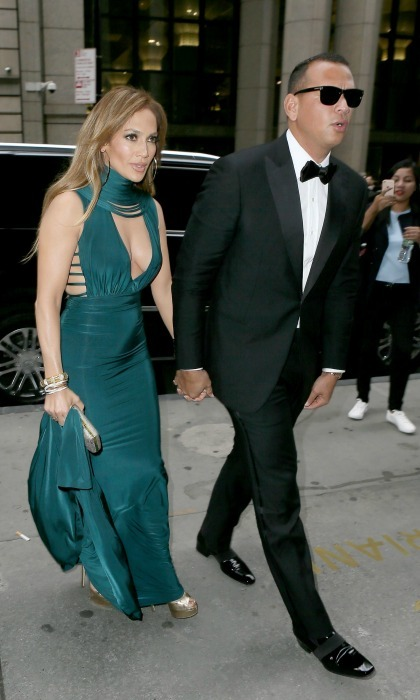 Date night! Jennifer Lopez and Alex Rodriguez looked sharping while stepping out for a friend's wedding in New York City on August 6. J-Rod embodied glamour while at the Cipriani Wall Street celebration for Marc Lasry's daughter. 