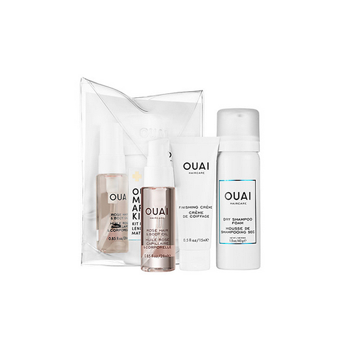 <b>OUAI Morning After Kit, $22, available at theouai.com and sephora.com </B>