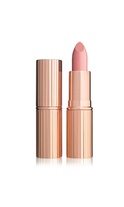 <B>Charlotte Tilbury K.I.S.S.I.N.G in Valentine Lipstick, $34, available at charlottetilbury.com and nordstrom.com</B>