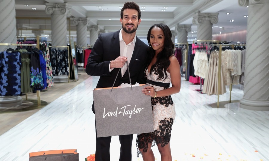 Roses aren't the only thing that Rachel Lindsay has given to her fiancé Bryan Abasolo! It seems that <i>The Bachelorette</i> star has provided her man with fashion advice too. 