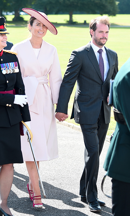 Also representing Luxembourg's royal family were Prince Felix and Princess Claire.