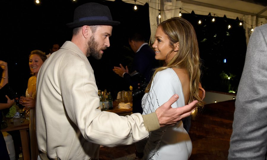 Fancy meeting you here! Justin Timberlake and Jennifer Lopez got caught up at Apollo in the Hamptons 2017 hosted by Ronald O. Perelman at The Creeks on August 12  in East Hampton, New York. 
