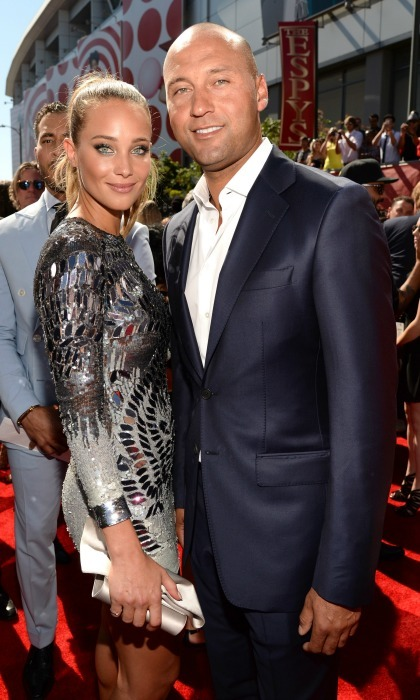 <b>Derek Jeter and Hannah Davis</b>