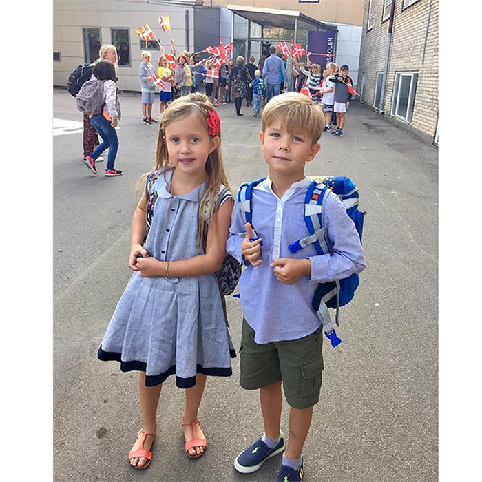 <b>Prince Vincent and Princess Josephine of Denmark</B>