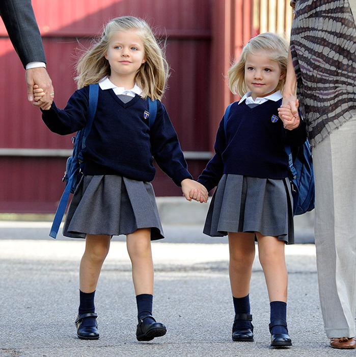 <b>Princesses Leonor and Sofia of Spain</B>