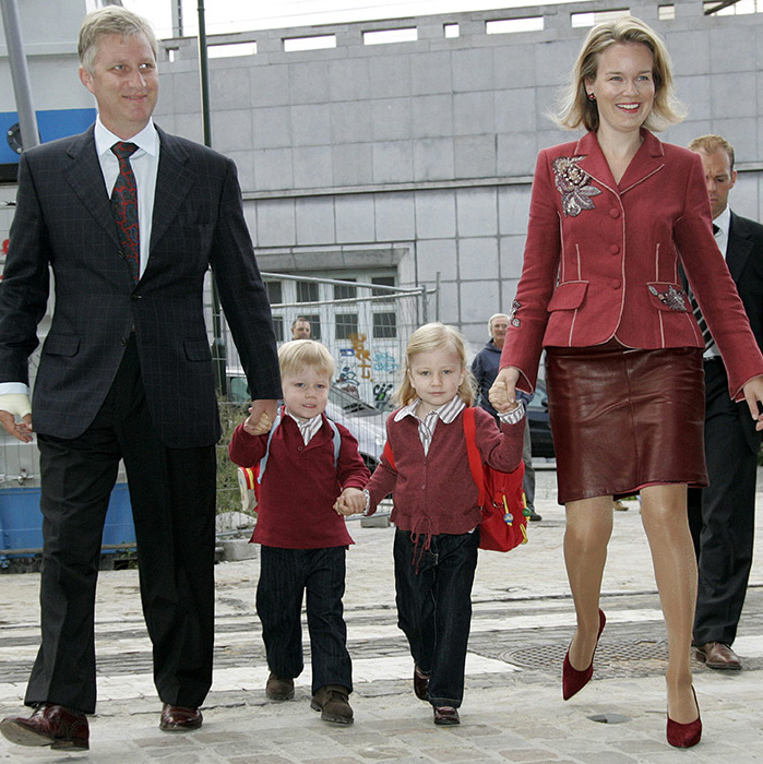 <B>Prince Gabriel and Princess Elisabeth of Belgium</B>
