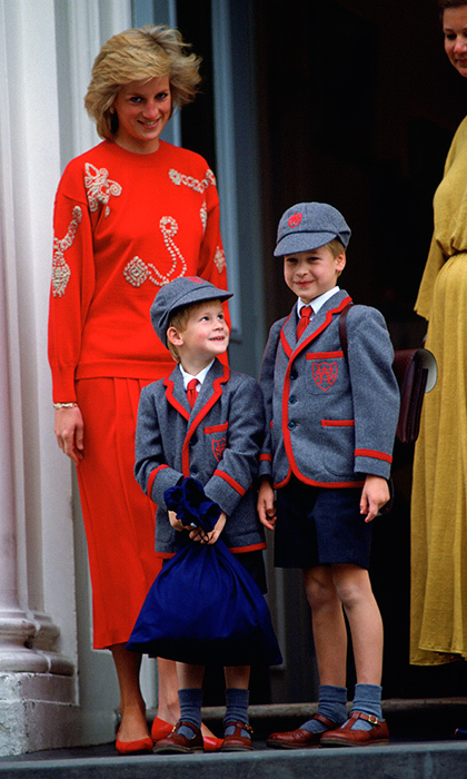 <B>Prince Harry and Prince William</B>
