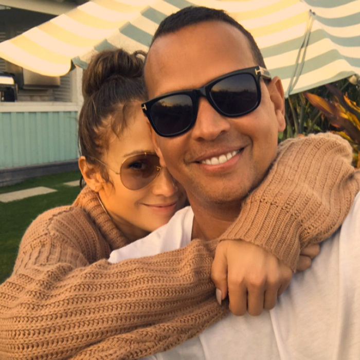 Jennifer Lopez shared a photo on August 22 with her main squeeze after a weekend in Miami. During the break from filming <i>Shades of Blue</i>, she hung with Alex Rodriguez, tried a workout in his new UFC style gym and enjoyed a pizza and ice cream night with his daughters.