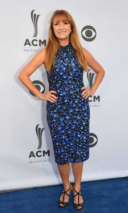 Jane Seymour, who is producing a documentary on famed country legend Glen Campbell, made her way to Nashville for the ACM Honors.