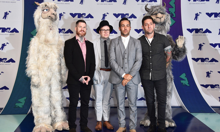 Fallout Boy (Andy Hurley, Patrick Stump, Pete Wentz and Joe Trohman)