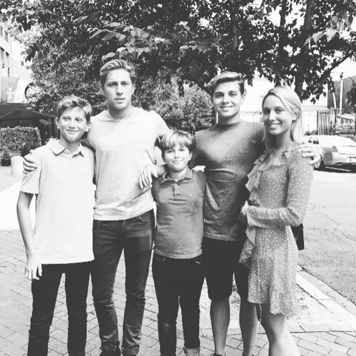 "After moving her Georgetown-bound son, Prince Constantine Alexios, to Washington, D.C. for college, Crown Princess Marie-Chantal shared a group photo of her five children  — Prince Odysseas-Kimon, Prince Constantine Alexios, Prince Aristidis-Stavros, Prince Achileas-Andreas and Princess Olympia — which she captioned, ""A new chapter begins #hoyas2021 2 down three to go 邏.""