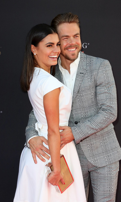 "Derek Hough had the support of girlfriend Hayley Erbert at the Television Academy's Choreography Peer Group Celebration in North Hollywood. The <i>World of Dance</i> judge was celebrated for his Outstanding Choreography Emmy nomination. The 32-year-old also posted about the night on Instagram writing: ""So wonderful sharing last night with my ❤️ @hayley.erbert. She looked absolutely stunning. Took my breath away. Everything is better when you are able to share it with someone.""