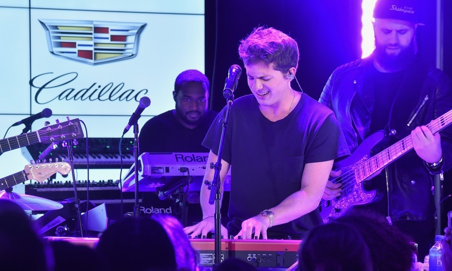 "Charlie Puth was all smiles as he kicked off the ""Global Citizen and Cadillac Present: The Accelerator Series"" concert series at Cadillac House on August 29 in New York City. The concert series was created to honor leading social entrepreneurs who are driving systemic change and creating solutions to global problems. 